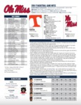 Ole Miss Game Notes Tennessee