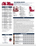 Ole Miss Game Notes MSU by Ole Miss Athletics. Men's Basketball