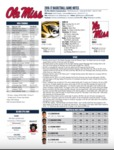 Ole Miss Game Notes Missouri