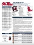 Ole Miss 2016-17 Game Notes: South Carolina