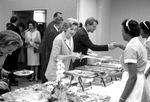 Bobby Kennedy at reception buffet: Image 1 by Edwin E. Meek
