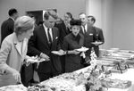 Bobby Kennedy at reception buffet: Image 3 by Edwin E. Meek