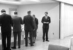 Bobby Kennedy at reception buffet: Image 4 by Edwin E. Meek