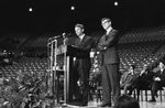 Bobby Kennedy delivering speech at University of Mississippi: Image 3 by Edwin E. Meek