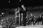 Bobby Kennedy delivering speech at University of Mississippi: Image 4 by Edwin E. Meek