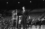 Bobby Kennedy delivering speech at University of Mississippi: Image 6 by Edwin E. Meek