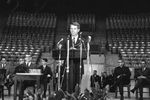 Bobby Kennedy delivering speech at University of Mississippi: Image 7 by Edwin E. Meek