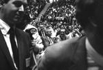 Bobby Kennedy delivering speech at University of Mississippi: Image 8 by Edwin E. Meek