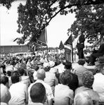 J. P. Coleman speaking at rally: Image 3 by Edwin E. Meek