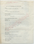 Unknown to [James Meredith] N.A.A.C.P. Application (Undated) by Author Unknown