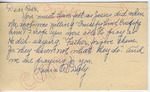 """Laura R. Daly to """"Dear Sir"""" (11 October 1962) by Laura R. Daly"""