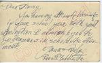"""Fred J. Boddie, Jr. to """"Dear Jimmy"""" (12 October 1962) by Fred J. Boddie Jr."""