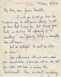 Hugelo Balsamo to James Meredith (3 October 1962)