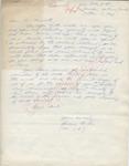 Swenne Becker to Mr. Meredith (3 October 1962) by Swenne Becker