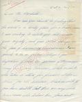 Dorothy Thornton to Mr. Meredith (3 October 1962) by Dorothy Thornton