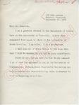 Dan T. Carter to Mr. Meredith (29 September 1962) by Dan T. Carter