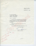 Irwin D. Shapiro to Mr. Meredith (27 September 1962) by Irwin D. Shapiro and James Meredith
