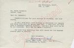 Edna Clark to Mr. Meredith (1 October 1962) by Edna Clark