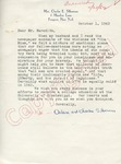 Arle and Charles Silberman to Mr. Meredith (1 October 1962) by Arle and Charles Silberman