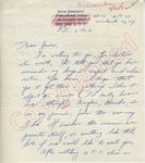 Roger Zimmerman to James (1 October 1962) by Roger Zimmerman