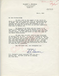 Gilbert L. Boorom to Mr. Meredith (1 October 1962) by Gilbert L. Boorom