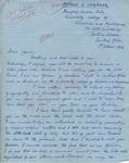 Patrick K. Chiwenda to James (1 October 1962) by Patrick K. Chiwenda K. Chiwenda