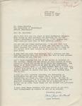Joyce Cortland to Mr. Meredith (1 October 1962) by Joyce Cortland