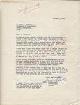 Sandra Clarke to Mr. Meredith (1 October 1962) by Sandra Clarke
