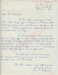Mr. B. [Sutzman] to Mr. Meredith (1 October 1962) by Mr. B. Sutzman
