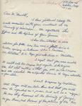 Robert L. Brackney to Mr. Meredith (1 October 1962) by Robert L. Brackney