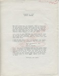 """Mrs. Marguerite Copp to """"My Friend"""" (1 October 1962) by Mrs. Marguerite Copp"""