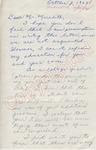 Judith P. Coen to Mr. Meredith (2 October 1962) by Judith P. Coen