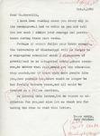 Judy Walman to Mr. Meredith (2 October 1962) by Judy Walman
