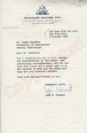 Jean H. Stewart to Mr. Meredith (2 October 1962) by Jean H. Stewart