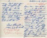 Mrs. J.J. Bridwell to Mr. Meredith (2 October 1962) by Mrs. J. J. Bridwell