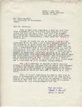 Walter C. Daniel to Mr. Meredith (2 October 1962) by Walter C. Daniel