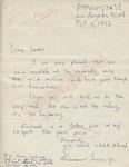 Simon Burris, Jr. to James (2 October 1962) by Simon Burris Jr. and James Meredith