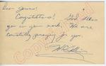 """W. C. Colbin to """"Dear James!"""" (27 September 1962) by W. C. Colbin"""
