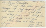 Annie Carrington to Mr. James Meredith (5 October 1962) by Annie Carrington