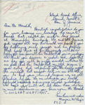"Marjorie McKenzie to ""Dear Mr. Meredith"" (Undated) by Marjorie McKenzie"