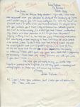 """Louise Tolmar to """"Dear James"""" (Undated) by Louise Tolmar"""