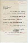 "Dorothy Moffett to ""Dear Mr. Meredith"" (Undated) by Dorothy Moffett"