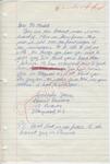 """Bonnie Rosenberg to """"Dear Mr. Meredith"""" (Undated) by Bonnie Rosenberg"""