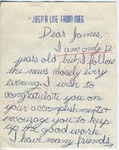 "Meg Maloney to ""Dear James"" (Undated) by Meg Maloney"