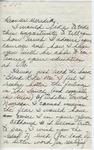 """Mrs. Sahmia Nelson to """"Dear Mr. Meredith"""" (Undated) by Mrs. Sahmia Nelson"""