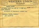 John Valentin to James Meredith (3 October 1962) by John Valentin