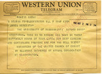 Ministers of the United Church of Christ to James Meredith (Undated) by Ministers of the United Church of Christ