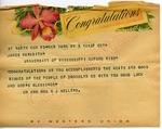 Mr. and Mrs. R. J. Sellers to James Meredith (Undated) by Mr. and Mrs. R. J. Sellers