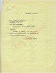 Elizabeth Timberman to Mr. James H. Meredith (4 October 1962) by Elizabeth Timberman