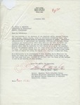 Otto A. Steen to Mr. Meredith (4 October 1962) by Otto A. Steen